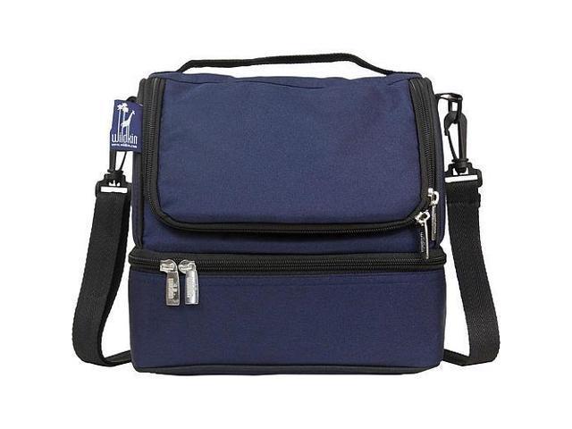 Wildkin Double Decker Lunch Bag - Whale Blue