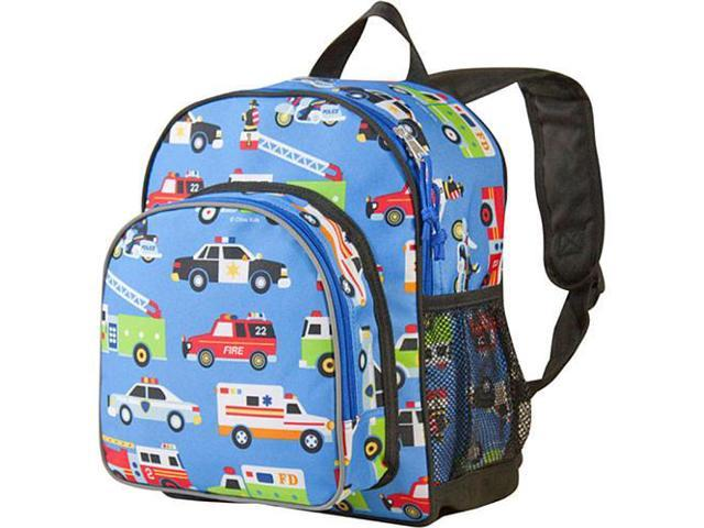 Wildkin Pack 'n Snack Backpack - Olive Kids Heroes