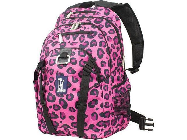 Wildkin Serious Backpack - Pink Leopard