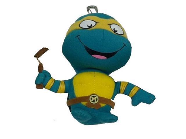 Teenage Mutant Ninja Turtles Plush Keychain - Michelangelo