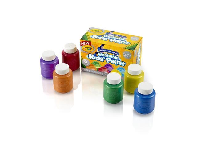 Crayola Washable Metallic Paint