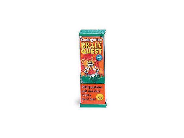 Brain Quest Series Flash Card Decks - Kindergarten