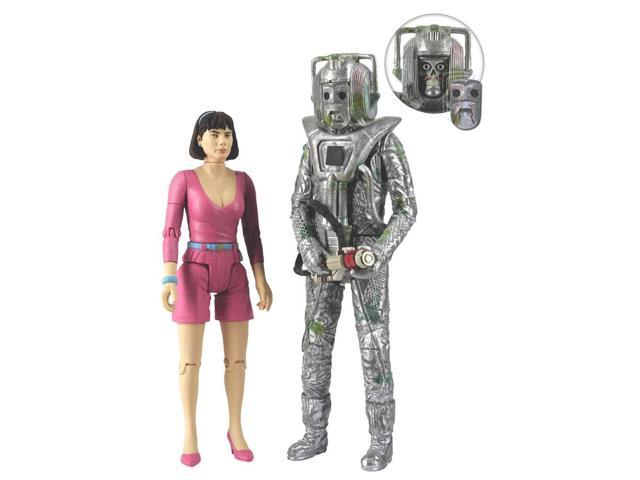 Doctor Who Peri & Rogue Cyberman