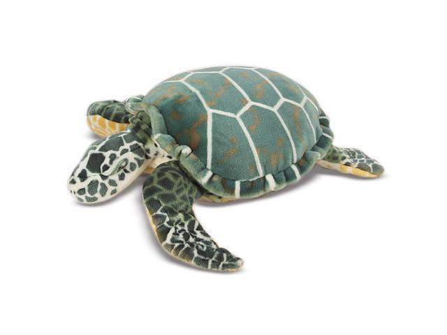 Melissa & Doug Lifelike and Lovable Plush Giant Sea Turtle