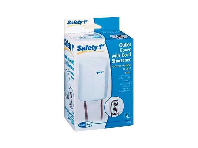 Safety 1st 2-in-1 Outlet Cover with Shortener