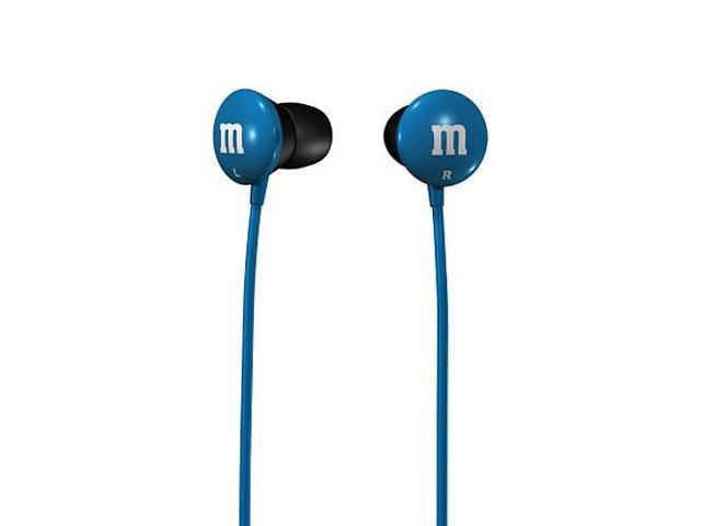Maxell M's Stereo Ear Buds - Blue