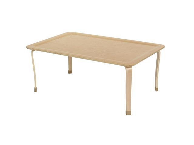 """30x48"""" Rect Bentwood Table with 18"""" Legs"""