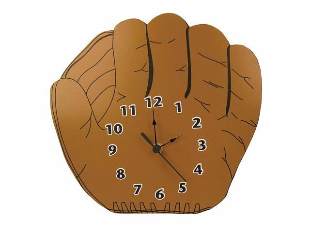 Trend Lab Baseball Glove Shaped Wall Clock
