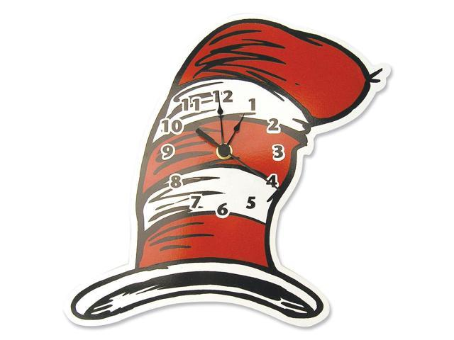 Dr. Seuss by Trend Lab Cat in the Hat - Hat Shaped Wall Clock