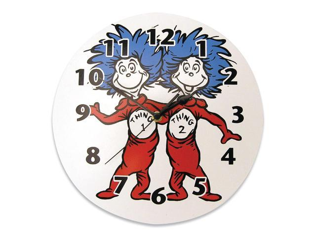 Dr. Seuss by Trend Lab Thing 1 and Thing 2 Wall Clock