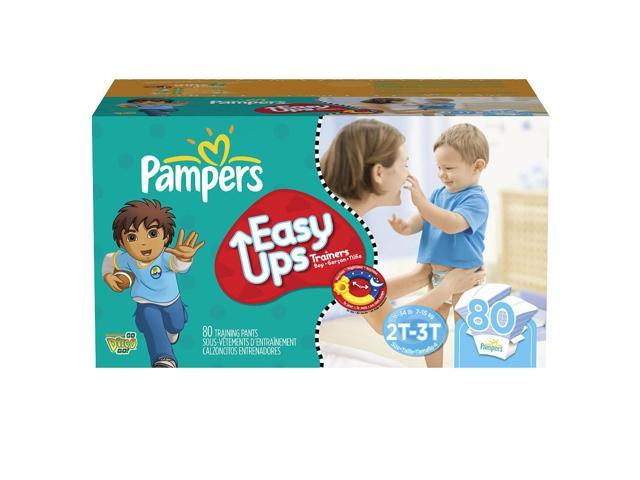 Pampers Boys Easy Ups Training Pants Super Pack Size 2t