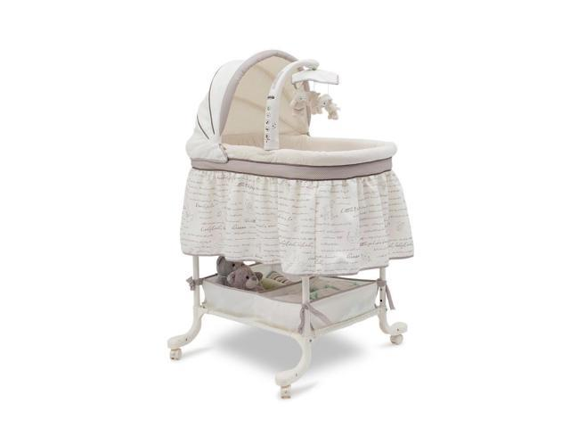 Simmons Slumber Time Gliding Bassinet - Nursery Rhyme