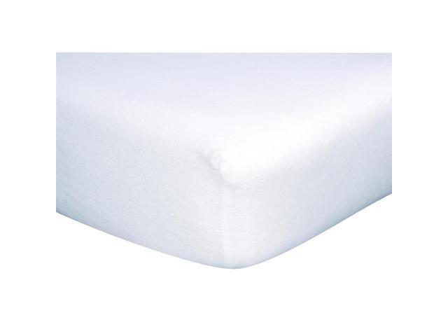Trend Lab Crib Sheet - White Flannel - 101309