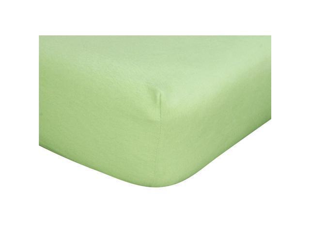 Trend Lab Crib Sheet - Sage Flannel - 101308