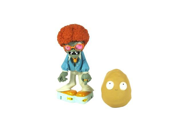 Plants vs. Zombies 3 inch Figure - Disco Zombie and Wall-Nut