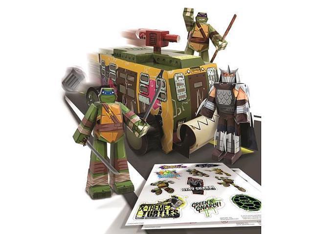 Teenage Mutant Ninja Turtles Papercraft - Shellraiser Vehicle Pack