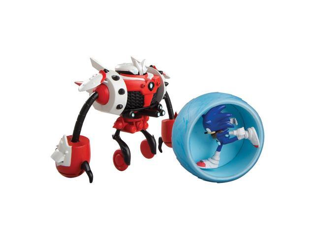 Sonic vs Burnbot Playset