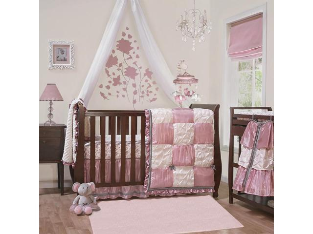 The Peanut Shell Bella  Piece Crib Bedding Set