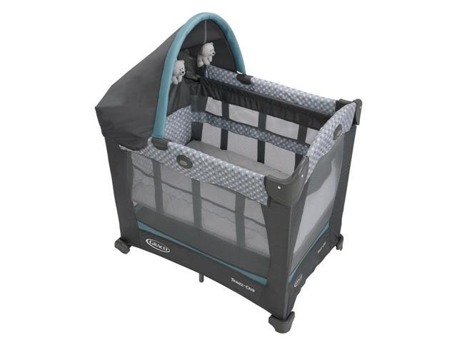 Graco Travel Lite Crib With Stages Spin Newegg Com
