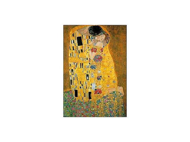 Klimt's The Kiss Metallic Jigsaw Puzzle - 1000-Piece