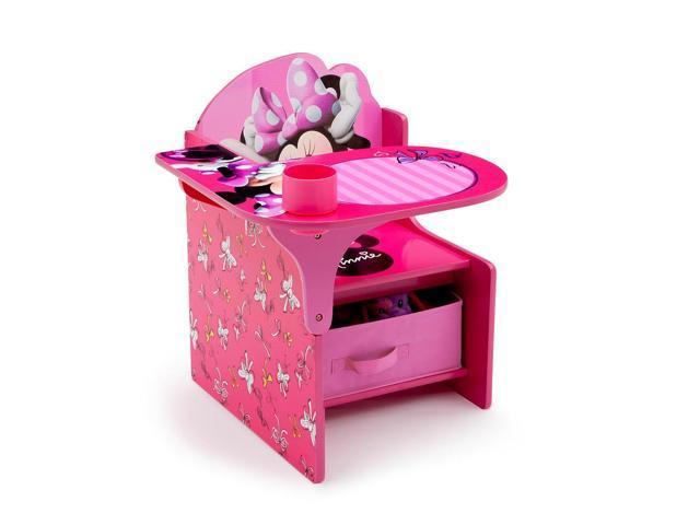 Disney Minnie Mouse Chair Desk With Storage Bin Newegg