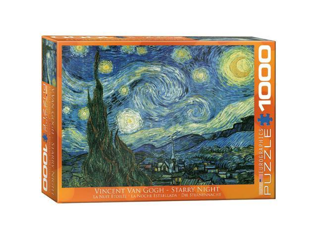 Starry Night 'Nuit Etoilee' Jigsaw Puzzle - 1000-Piece