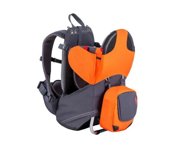 Phil & Ted's Parade Lightweight Backpack Carrier - Orange/Grey