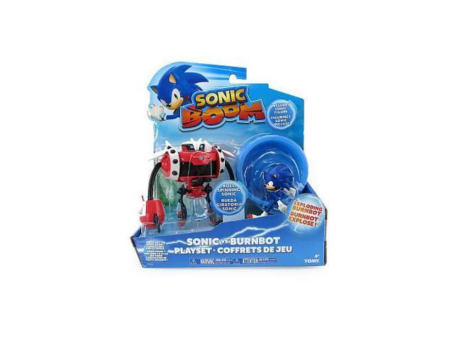 Sonic Boom 3 inch Action Figure Playset - Sonic vs Burnbot
