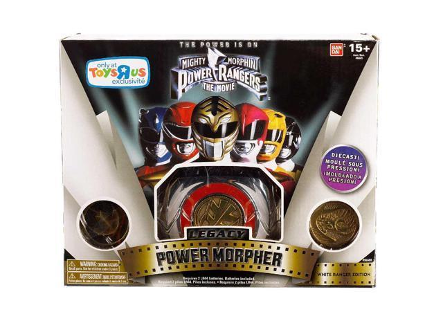 Power Rangers Mighty Morphin Legacy Power Morpher White