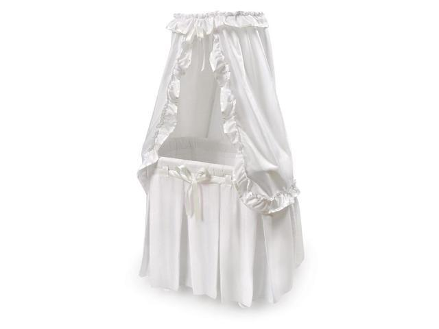 Majesty Baby Bassinet - White Bedding