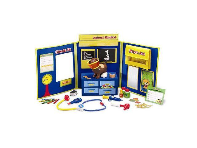 Learning Resources Pretend and Play Animal Hospital Playset - 35 Piece