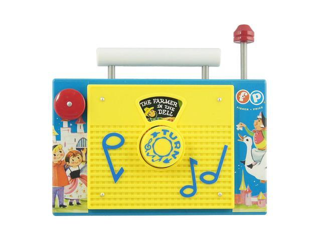 Fisher Price TV Radio Classic Toy