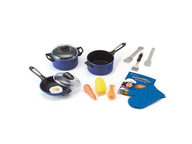 Learning Resources Pretend and Play Pro Chef Set