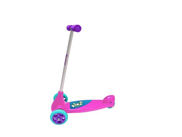 Girls Razor Kixi Kix 3 Wheel Scooter Pink/Purple