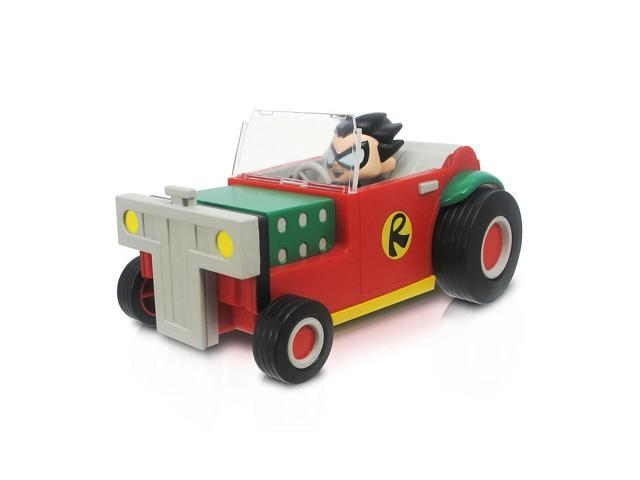 Teen Titans Go! Robin Action Figure and T-Car 5 inch Vehicle