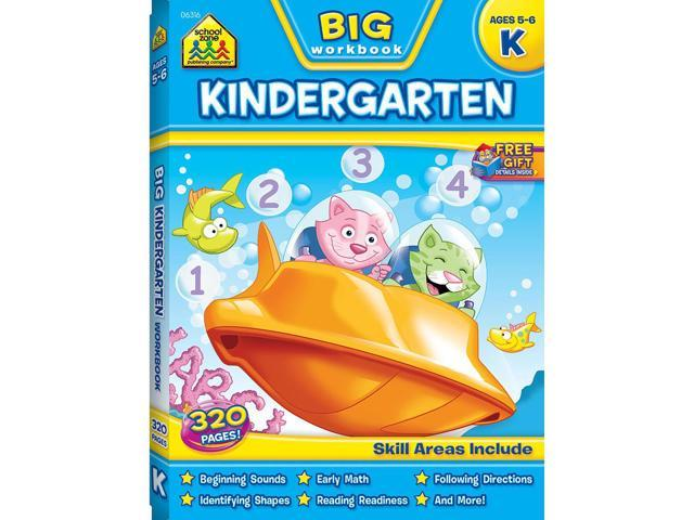 School Zone Back to School Workbook: Kindergarten