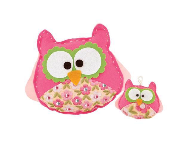 Owl Sew Cute Craft Box Kit - Makes 2 Westrim WTKIT-17404