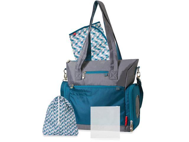fisher price athleisure diaper bag teal and gray. Black Bedroom Furniture Sets. Home Design Ideas