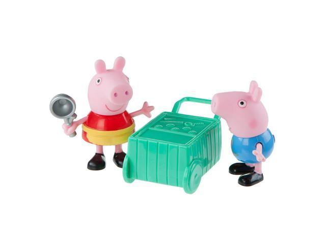 Peppa Pig and George Ice Cream Time 2 Pack Figures