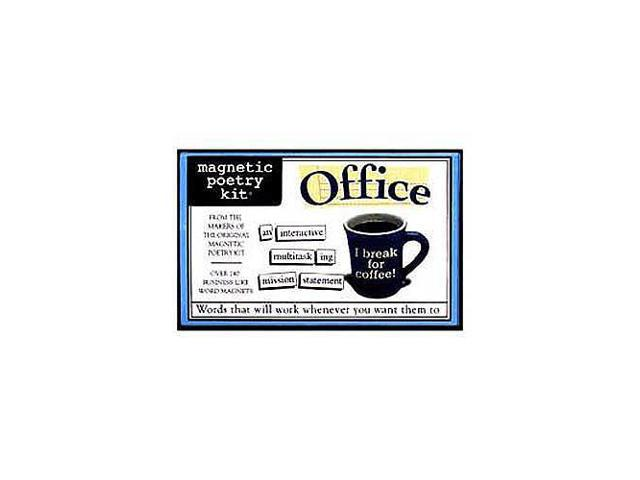 Magnetic Poetry Kit - Office Edition