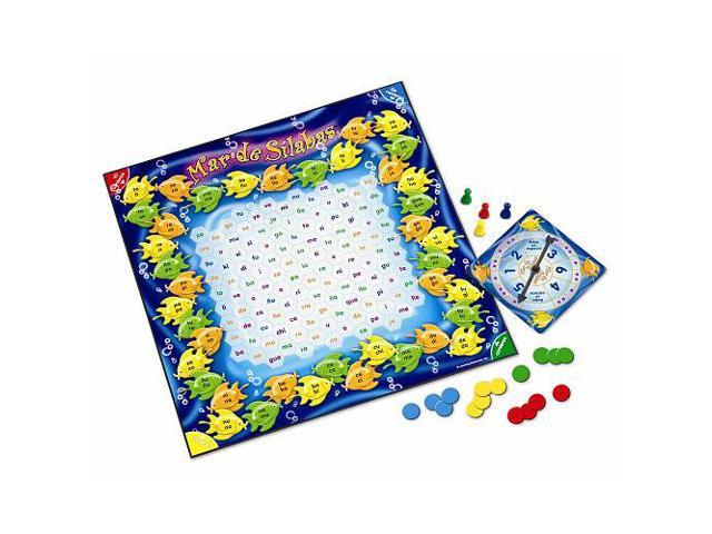 Learning Resources Mar de Silabas Sea of Syllables Game