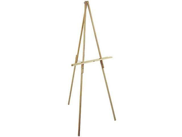 Floor Easel 65 inch - Natural Wood