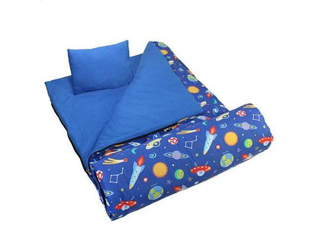 Wildkin Sleeping Bag - Olive Kids Out of this World