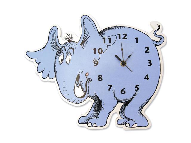 Dr. Seuss by Trend Lab Horton Hears a Who Horton Elephant Shaped Wall Clock