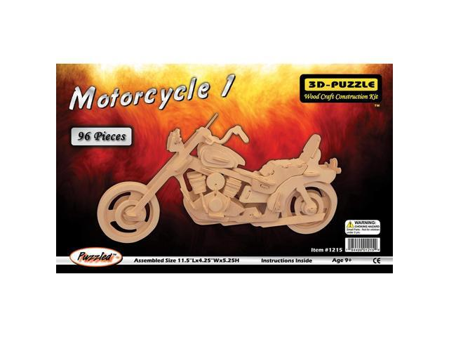 3D Jigsaw Puzzle - Motorcycle