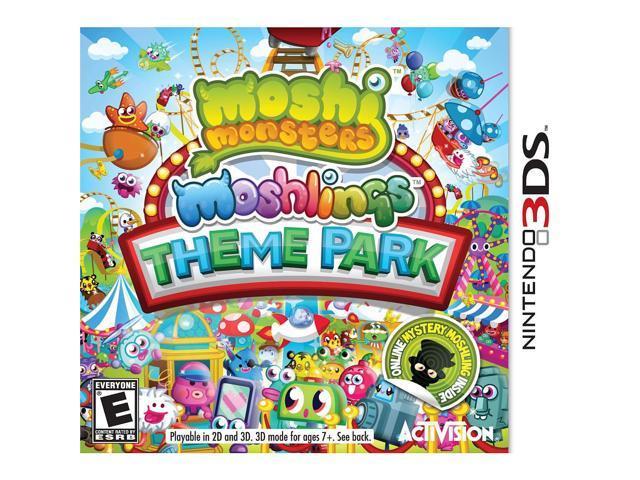 Moshi Monsters: Moshlings Theme Park 3DS