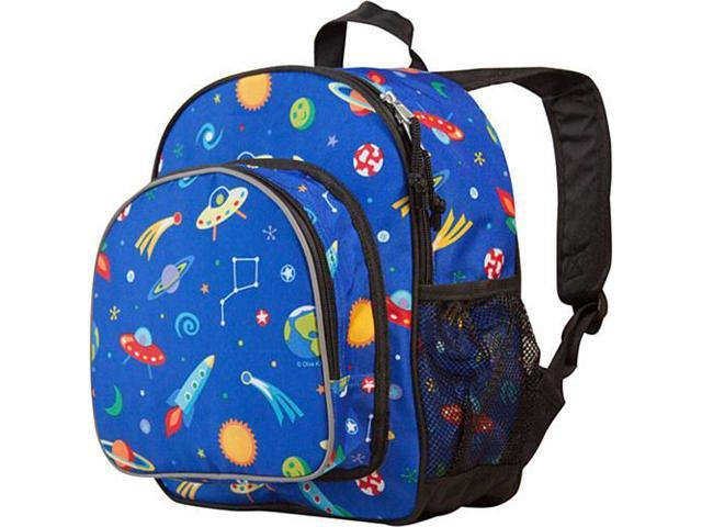 Wildkin Pack 'n Snack Backpack - Olive Kids Out of This World