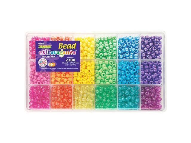 Giant Bead Box Kit 2300 Beads - Brights