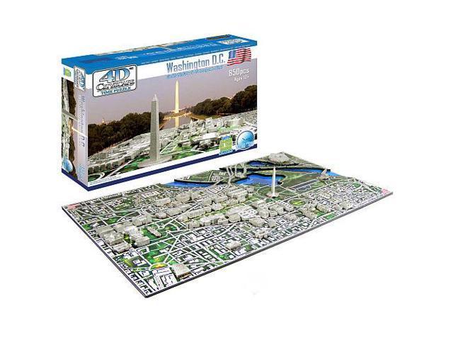 Washington DC History Time 4D Cityscape Puzzle by 4D Cityscape