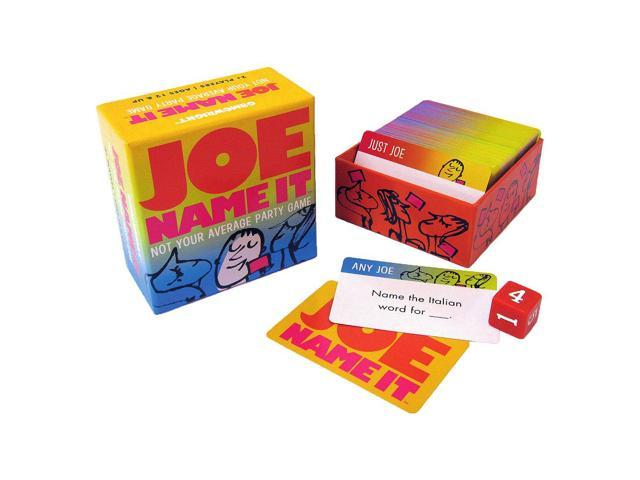 Games - Ceaco Gamewright - Joe Name It Kids New Toys 1101d